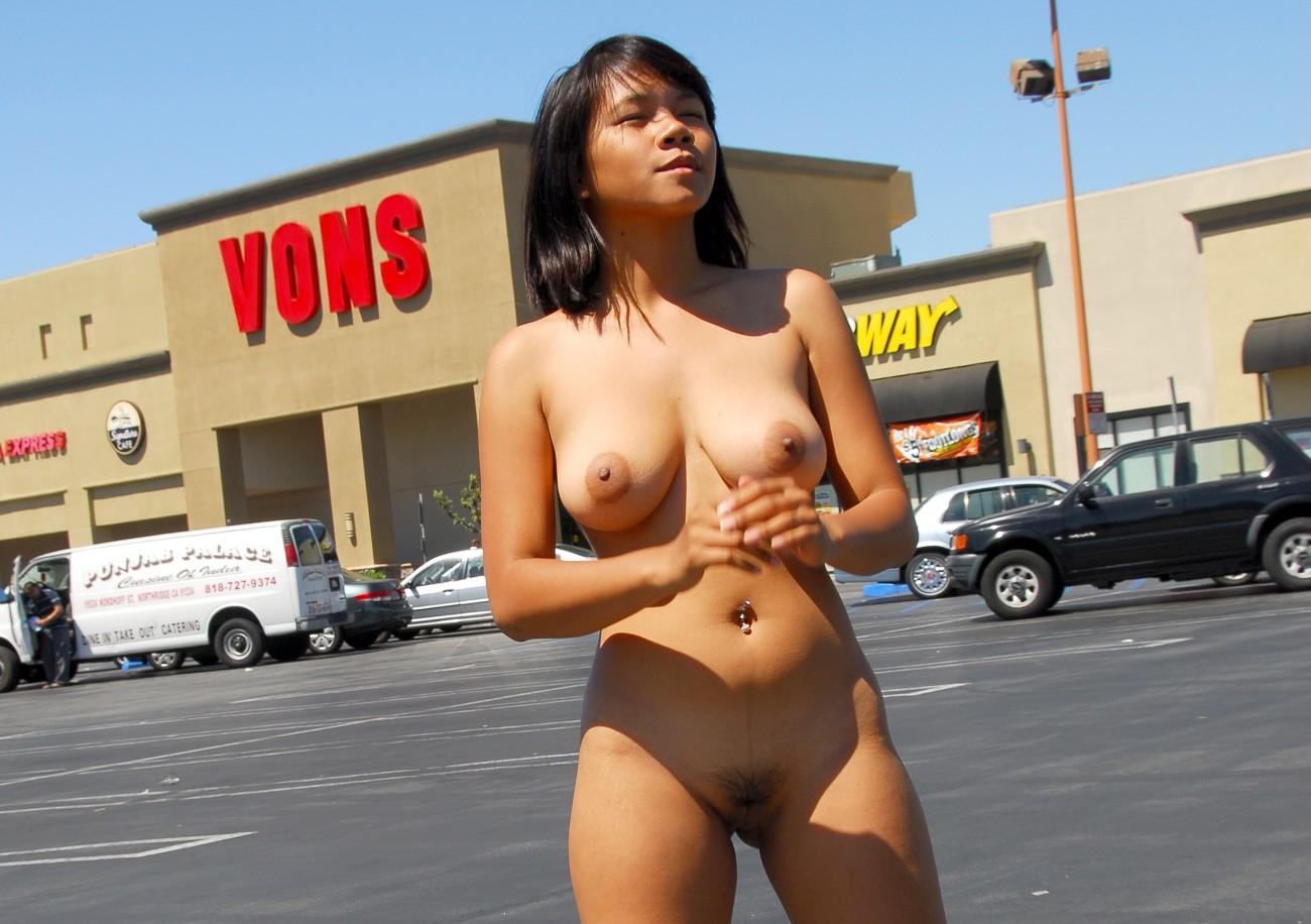 Monica Lian Laigo Japanese Public bare..