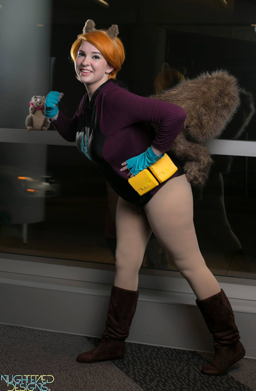 Squirrel Gal Costume play